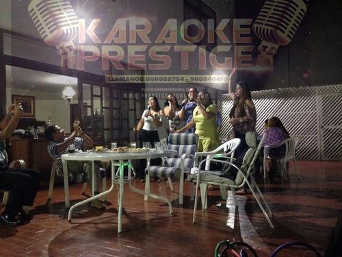 karaoke a domicilio. el mejor servicio delivery de música.