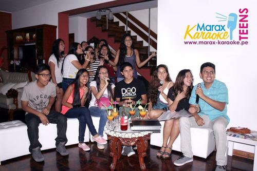 karaoke a domicilio marax 993856118 lima