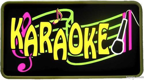 karaoke al mas alto nivel. maquinas de humo.