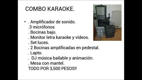 karaoke alquiler