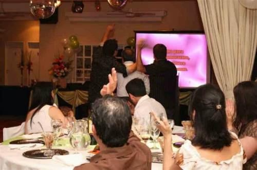 karaoke. alquiler pantalla gigante. fiesta fluo. zona oeste.