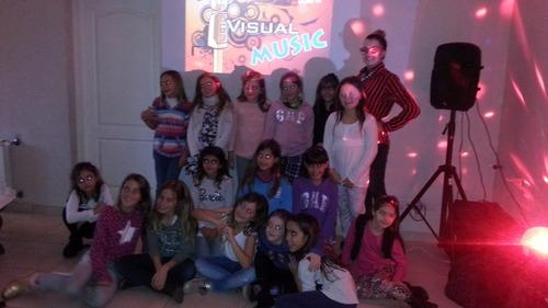 karaoke animacion infantil adultos juegos baile pantalla