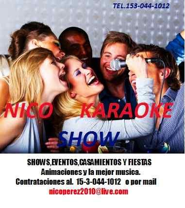 karaoke animacion y dj el mejor del mercado