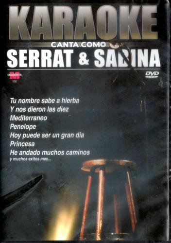 karaoke - canta como serrat & sabina ( dvd ) - los chiquibum