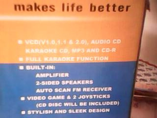 karaoke cd;mp3 and cd-r