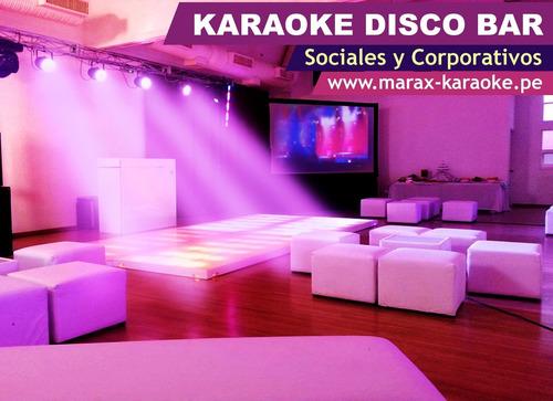 karaoke disco bar delivery 993856118 lima
