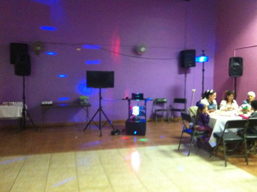 karaoke discomovil y baby shower