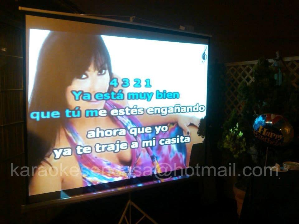 Karaoke en casa llamanos al 6367842 cell 998162507 s 100 en mercado libre - Karaoke en casa ...