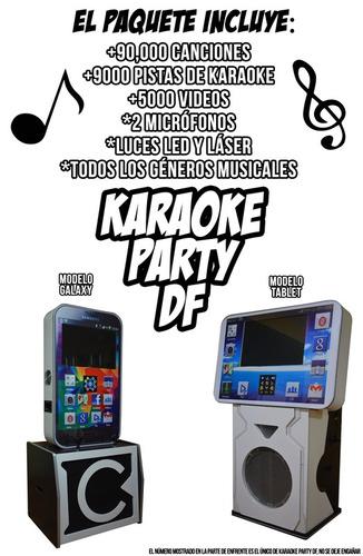 karaoke fiestas renta rockola