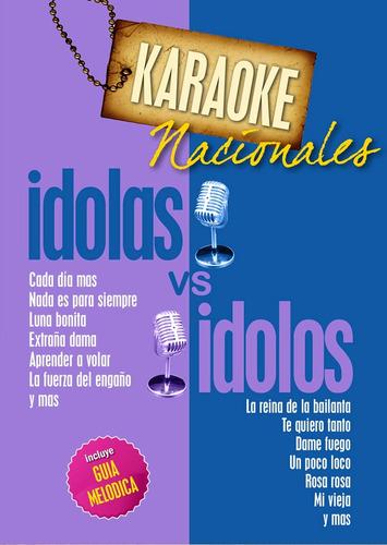 karaoke - idolas vs idolos nacionales
