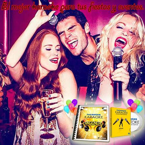 karaoke profesional 2017 actualizable + libro cancionero