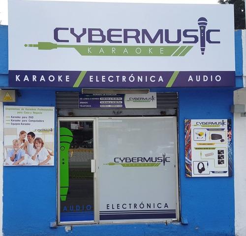 karaoke profesional compra desde casa 8000 canciones.
