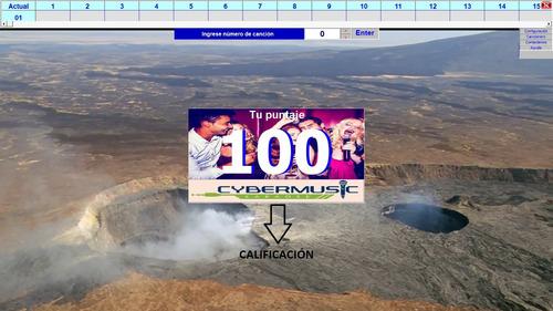 karaoke profesional para computadora 6000 canciones pistas