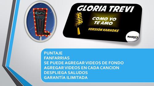 karaoke profesional portable de 7.320 temas en flash de 32gb
