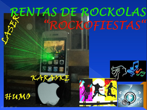 karaoke rockola renta