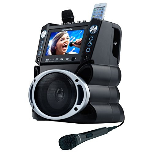 karaoke usa gf839 sistema portátil, negro