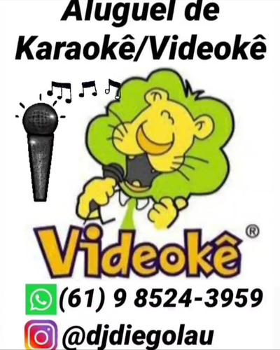 karaokê/videokê em brasília df somente aluguel.