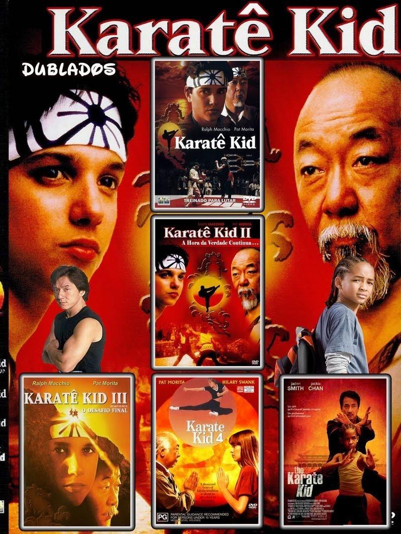 Resultado de imagem para coleção karate kid