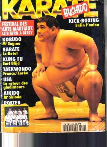 karate bushido - revista importada