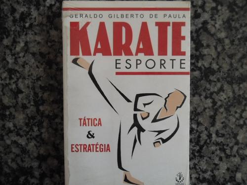 karate esporte = tática e estratégia