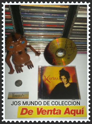 karina  - cd original - un tesoro músical