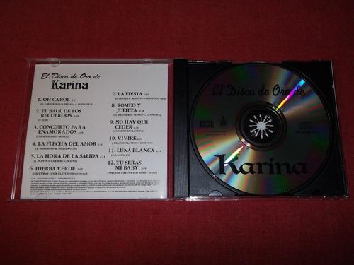 karina - el disco de oro de karina cd nac ed 1996 mdisk