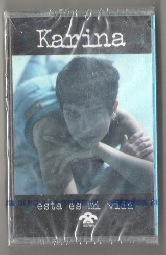 karina. esta es mi vida. kct sellado rodven 1993