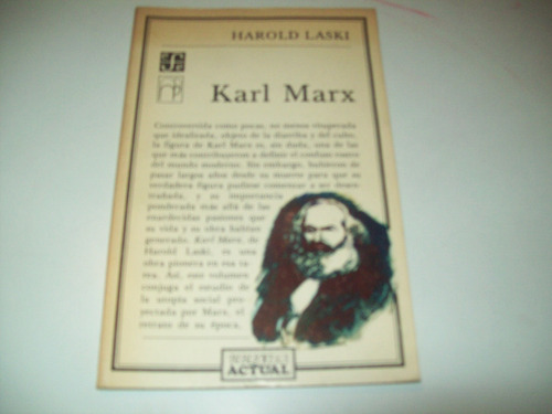karl marx harold laski estudio sobre la obra del creador