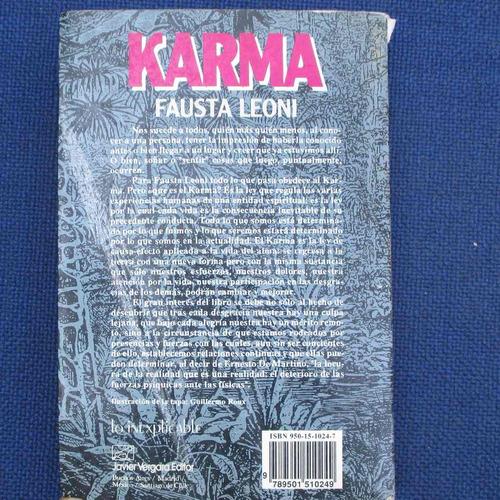 karma, fausta leoni, ed. vergara