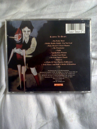 karma to burn - karma to burn cd (importado)