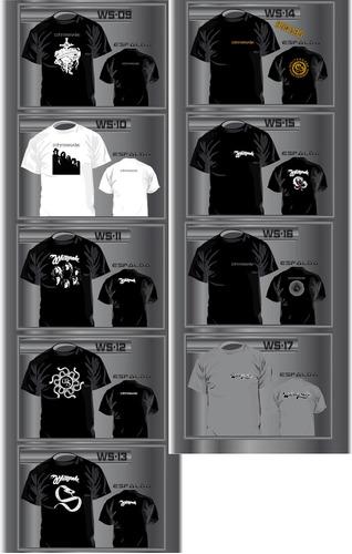 karmald remeras whitesnake 17 modelos - 1 ra calidad - rock