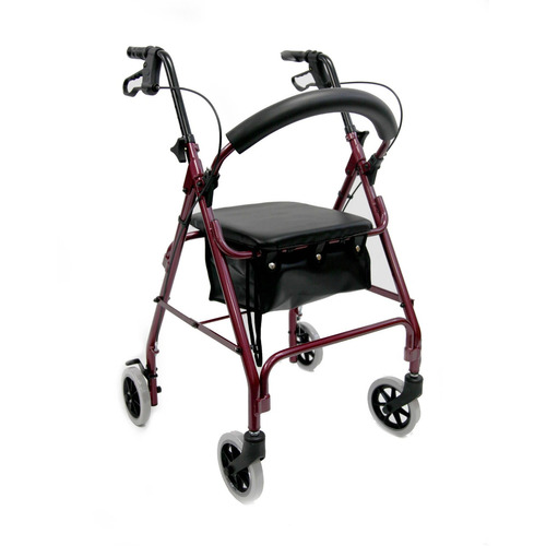karman r-4600 andador ligero con ruedas de 6 , acolchado