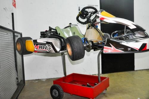 kart m101 rotax 125 2t  impecable karting usado