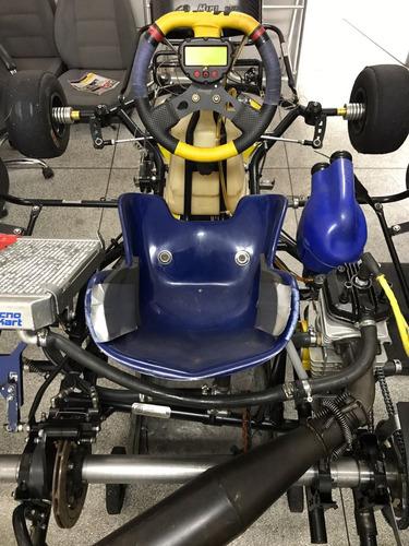 kart mini 2014 com motor parilla 2t a agua