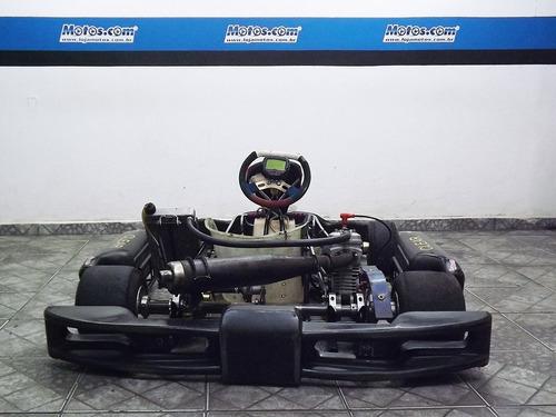 kart riomar 2011 com motor raptor 125cc pronto para competir