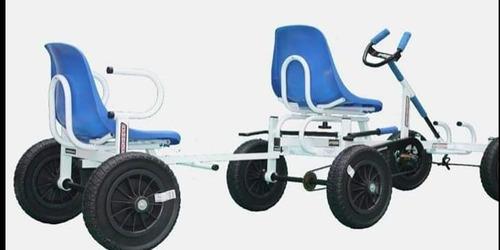kartciclo, quatro rodas,  pedalavel, rodas maciças câmara