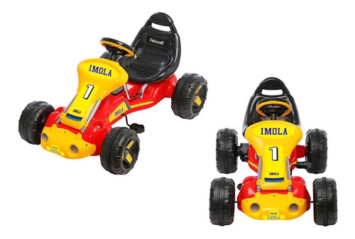 karting a pedal con asiento regulable uso hasta 8 años