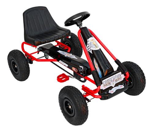 karting a pedal deportivo go kart ruedas inflables art.612