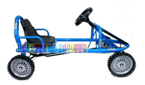 karting a pedal deportivo ruedas goma chapa envio gratis !