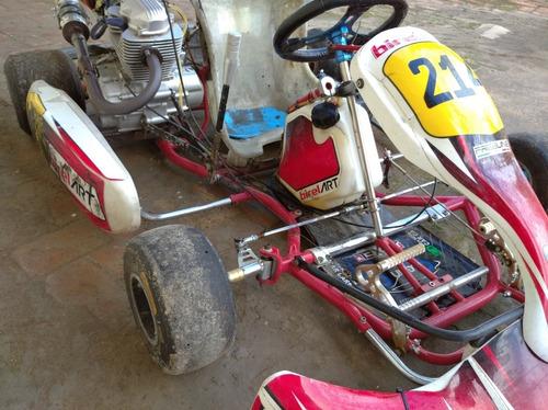 karting birel 2014 motor 200cc con accesorios