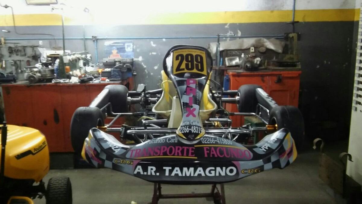 Karting Chasis Crg - $ 23,00 en Mercado Libre