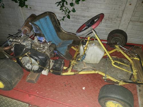 karting chasis vara + 2 motores