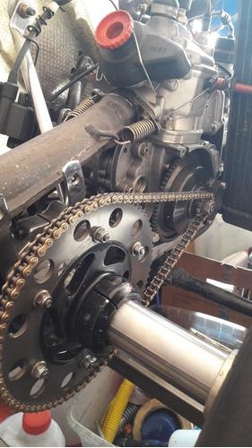 karting crg motor rotax precintado