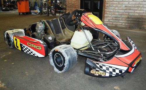 karting crg road rebel c/motor parilla aguatero