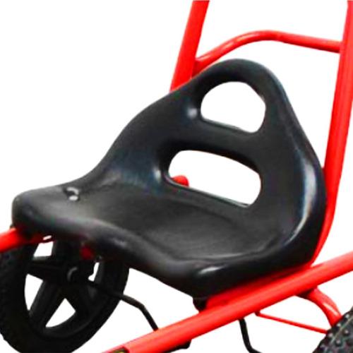 karting cuatriciclo auto pedal infantil formula 1 4 a 8 años