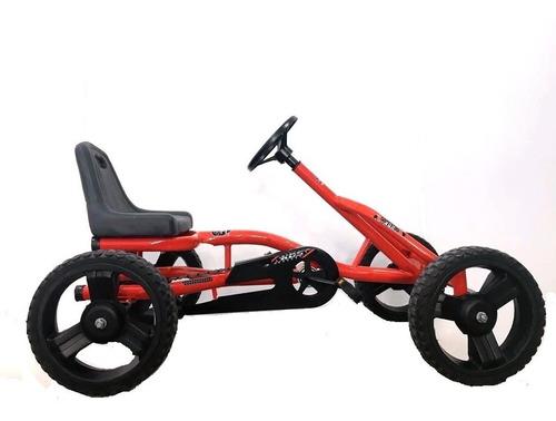 karting grande a cadena pedal rueda goma deportivo niño