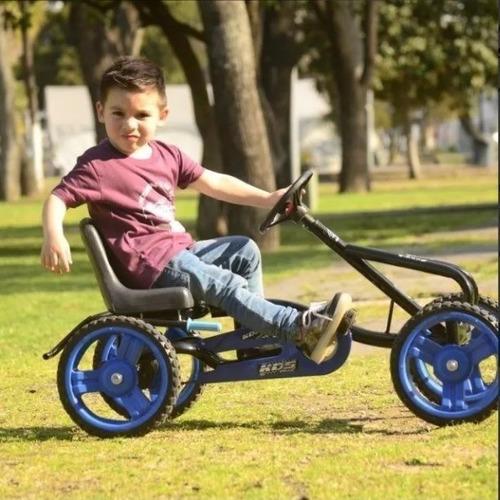 karting grande a pedal cadena ruedas goma deportivo niño