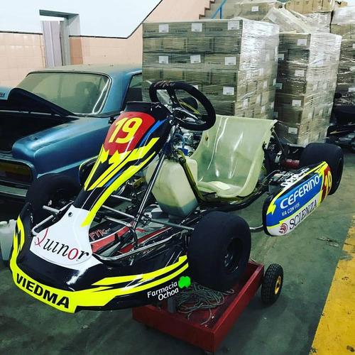 karting m101 modelo 2016 (solo chasis)