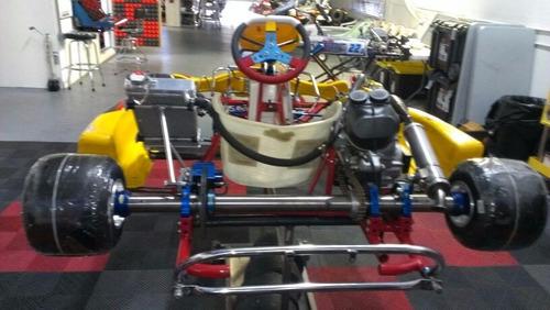 karting pcr shifter/cajero-italy-mxk8 (solo chasis y cub mg)