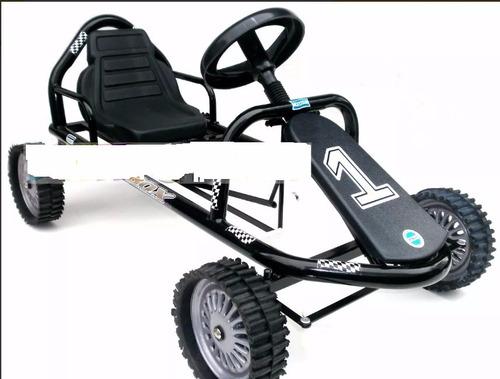 karting pedal deportivo ruedas de goma chapa casa valente